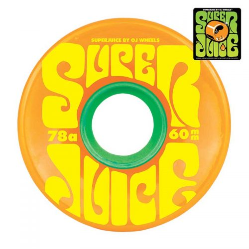 Oj Super Juice Citrus Skateboard Wheels Canada Online Sales Pickup Vancouver