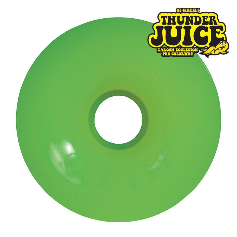 Oj Thunder Juice Green Zaroch Eggleston Dirt Dogs Skateboard Wheels Canada Online Sales Pickup Vancouver