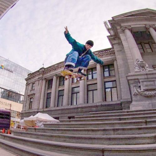 Olek Skateboarding Spot Vancouver CalStreets