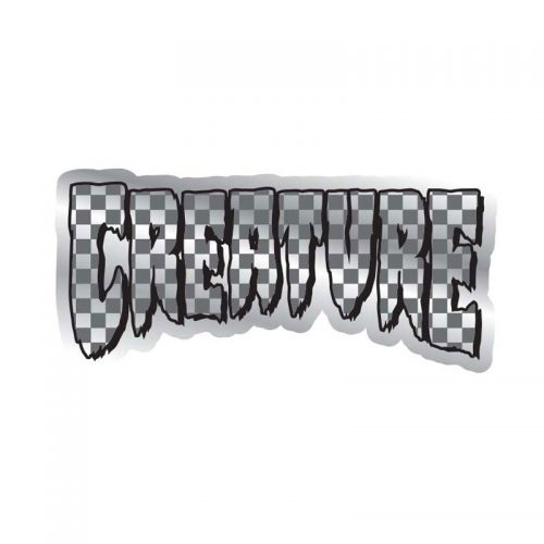 Creature Logo Check Sticker Canada Online Sales Vancouver Pickup