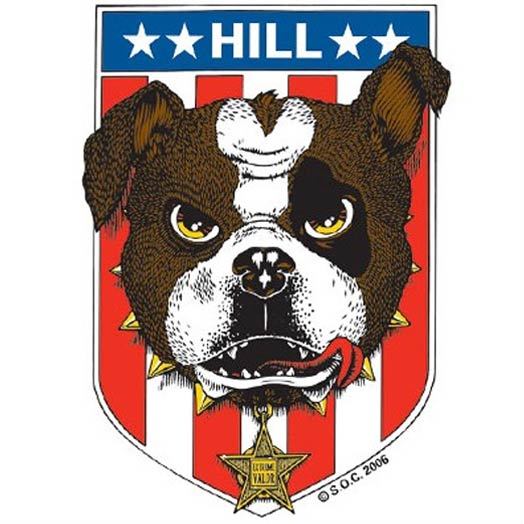 Powell Frankie Hill Bull dog Deck Canada Pickup Vancouver