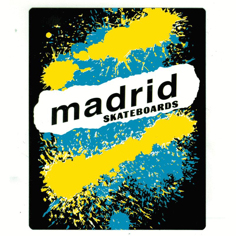Madrid Logo Sticker Canada Online Sales Pickup Vancouver