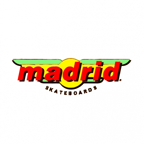 Madrid Logo Sticker Canada Online Sales Pickup Vancouver