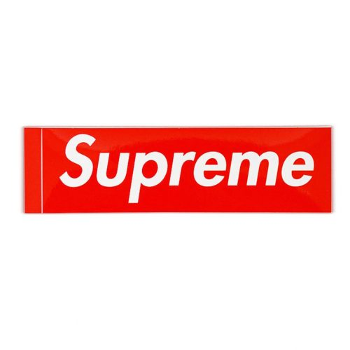 Supreme Box Logo Sticker Canada Online Sales Vancouver Pickup