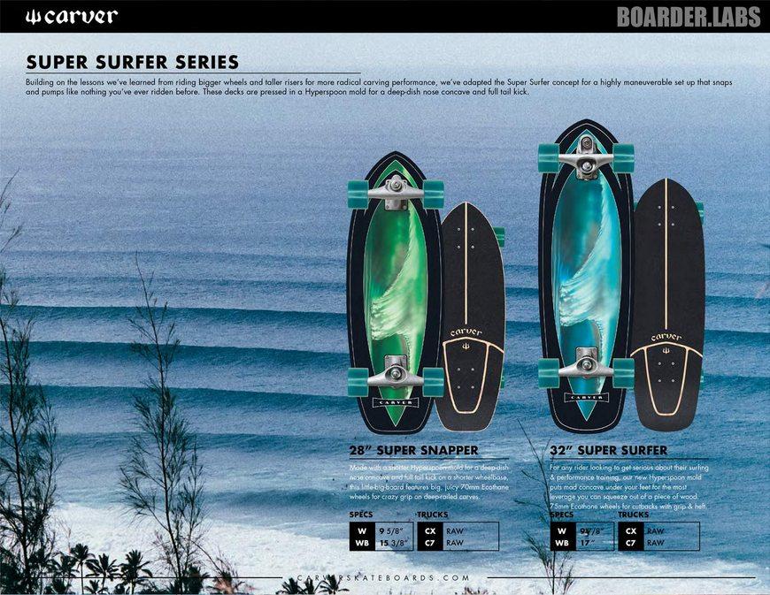 Carver Super Surfer Canada Online Sales Pickup Vancouver
