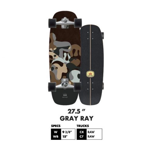 Carver Grey Ray Surf Skate Canada Online Sales Vancouver