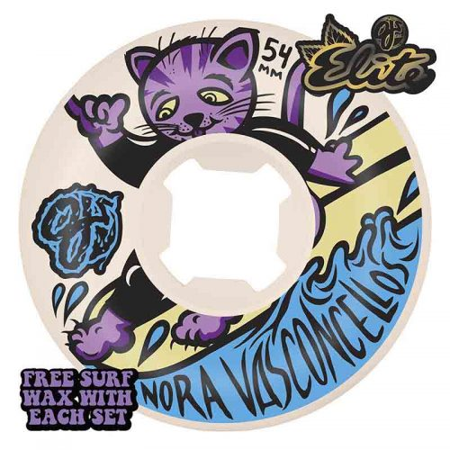 OJS WHEELS NORA SURFS UP ELITE MINI COMBO 101A 54mm Canada Online Sales Vancouver Pickup