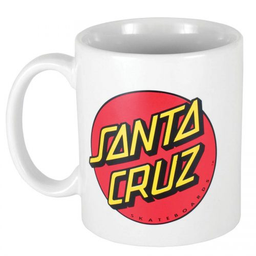 Santa Cruz Classic Dot Mug White Glassware Canada Online Sales Vancouver Pickup