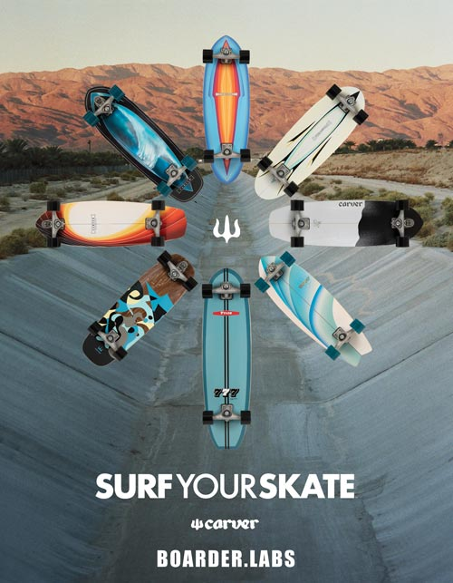 Carver Surf Skate Canada Distribution Vancouver Pickup