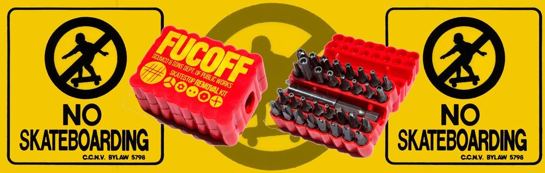 CalStreets No Skateboarding Fucoff Canada Online Sales Pickup Vancouver