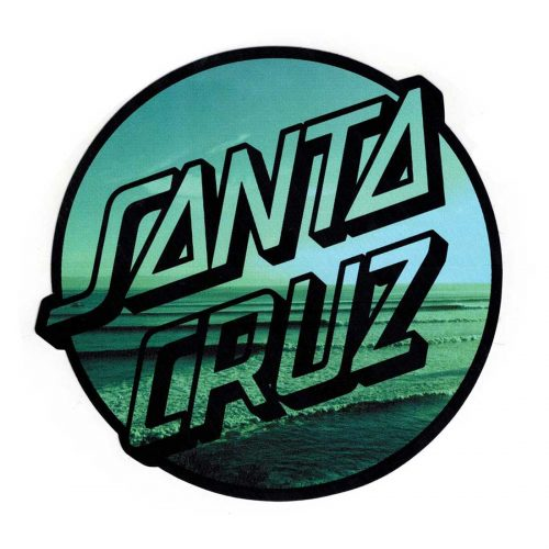 Santa Cruz beach sticker 6X6Canada Online Sales Pickup Vancouver