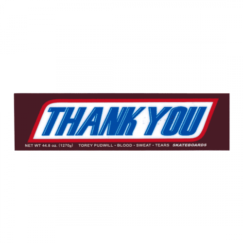 Thank You Sticker Canada Online Sales Pickup Vancouver