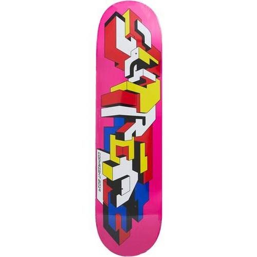 Supreme Delta Logo Skateboard Deck Magenta Canada Pickup Vancouver