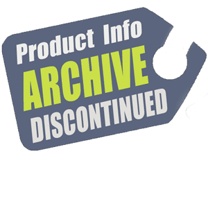 Discontinued Product Info Archive