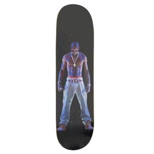 Supreme Tupac Hologram Skateboard Deck Black Canada Online Pickup Vancouver