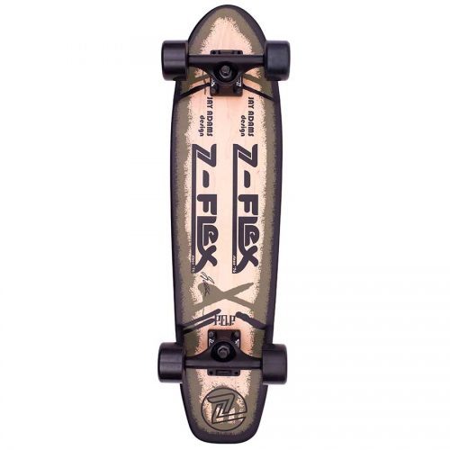 Z-Flex Jay Adams P.O.P. Complete Skateboard - Olive 7.5x29.5 Canada Online Sales Vancouver Pickup