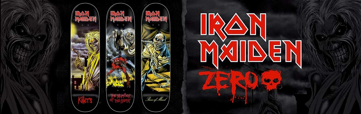 Zero Skateboards Iron Maiden Canada Online Pickup Vancouver