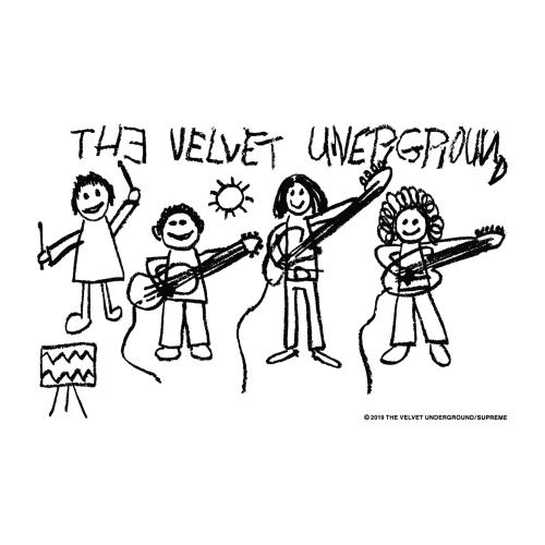 SUPREME Velvet Underground Art Sticker Canada Pickup Vancouver
