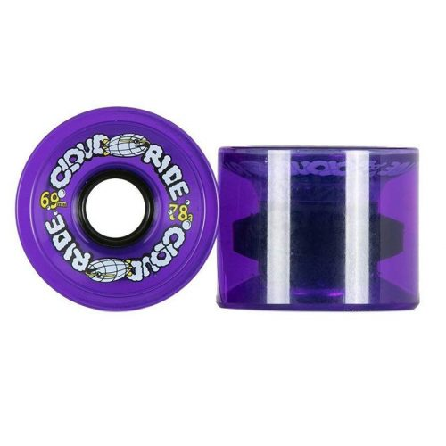 Cloud Ride Cruiser Wheels Sweet Clear Purple 69mm 78a Canada Online Vancouver Pickup