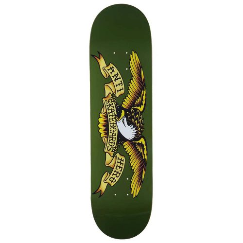 Antihero Classic Eagle 8.38 Dark Green Skateboard Deck Canada Online Sales Vancouver Pickup