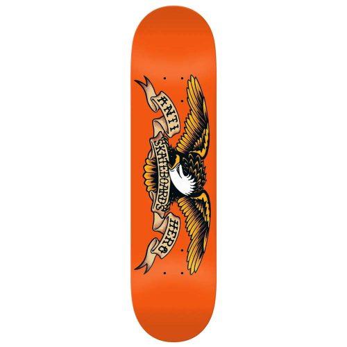 "Antihero Classic Eagle 9"" Orange Skateboard Deck Canada Online Sales Vancouver Pickup"