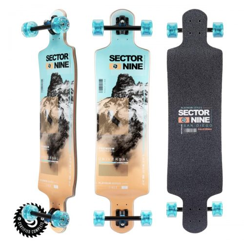 Sector Nine Longboard Complete Elevation Canada Pickup Vancouver