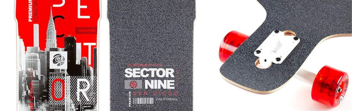 Sector 9 Canada Downtown Dropper Complete Canada Pickup Vancouver