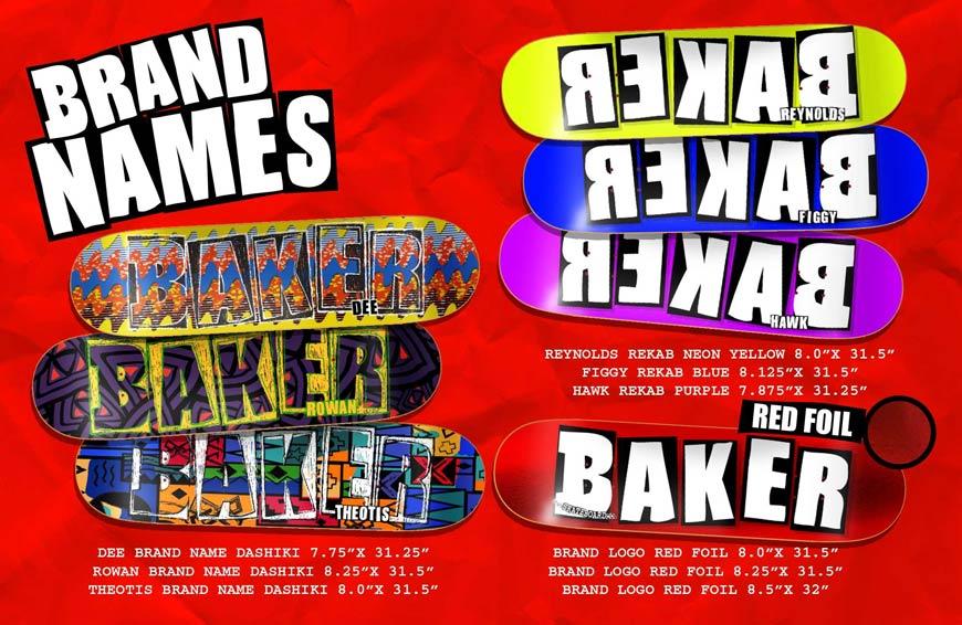 Baker Skateboard Buy Canada Online Sales Vancouver Pickup