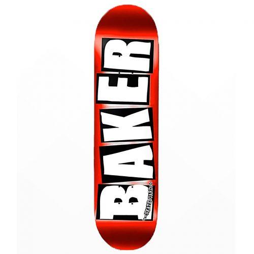 Baker Red Foil Deck Skateboard Canada Online Sales Vancouver Pickup