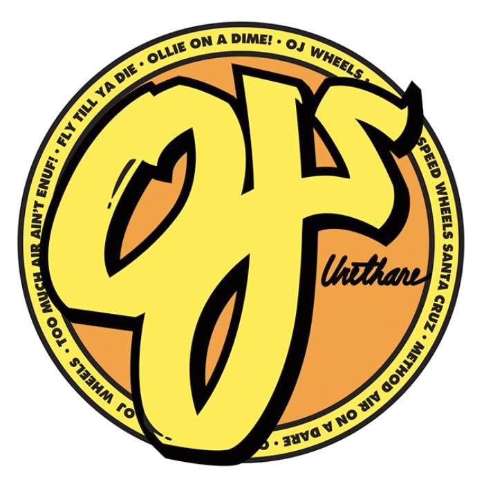 OJ Wheels Circle Logo Sticker Canada Online Sales Vancouver Pickup