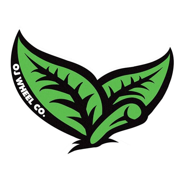 OJ Wheels Leaf Sticker Canada Online Sales Vancouver Pickup