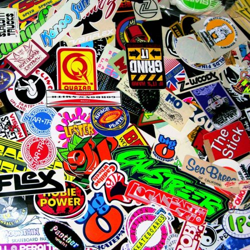 CalStreets has been a Vancouver destination for stickers for over 40 years! With over 25 feet of sticker showcase we have thousands of stickers instock. Not only do we have an amazing collection of skate stickers we also stock NOS (New Old Stock from the 70s and 80s.