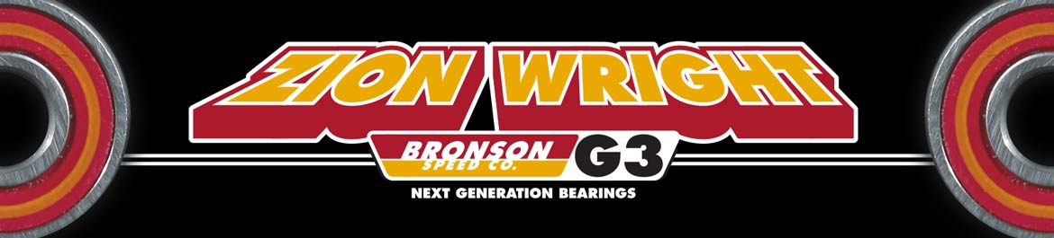 Bronson G3 Zion Wright Bearings Canada Pickup Vancouver