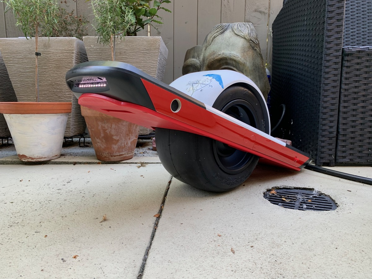 Onewheel Pint Fender Side Kicks Red & White