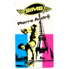 SIMS NEW-OLD-STOCK FREESTYLER PIERRE ANDRE STICKER 3.75″ X 2″ CLEAR