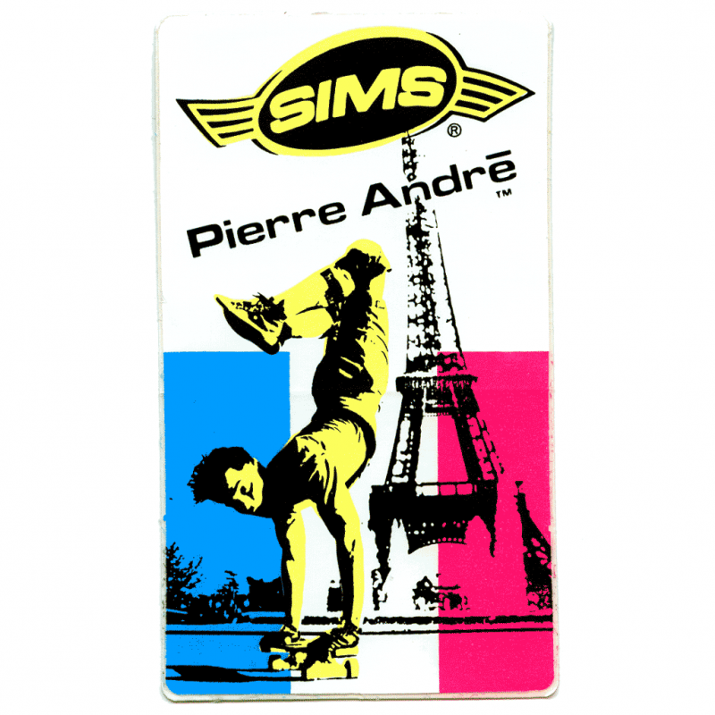 Sims Pierre Andre Sticker Canada Pickup Vancouver