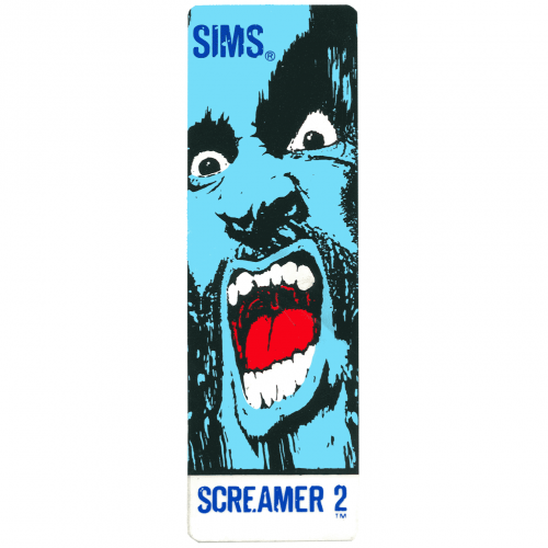 Sims Screamer NOS Sticker Canada Pickup Vancouver