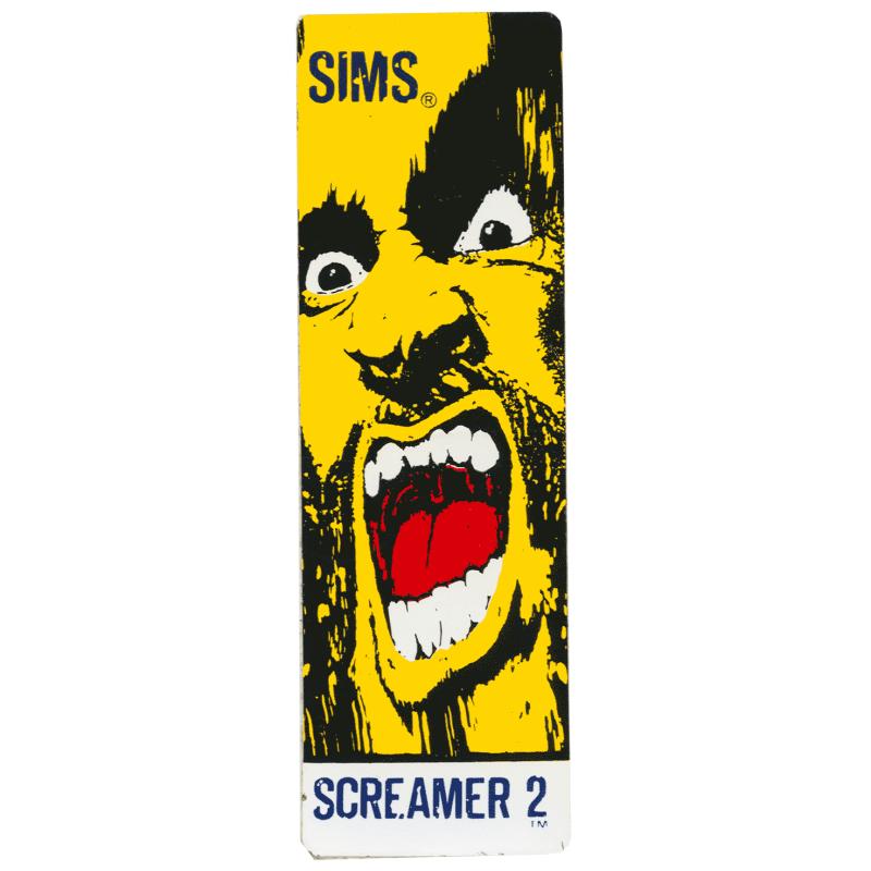 Sims Screamer NOS Sticker Canada Pickup Vancouver