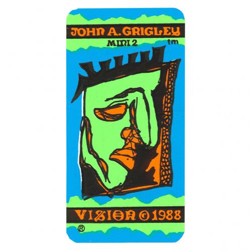 John A Grigley Mini 2 skateboard Vision 1988 Canada Pickup Vancouver