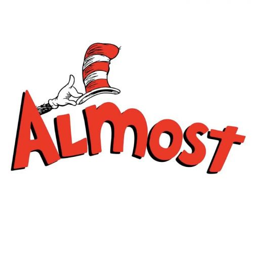 Almost X Dr. Seuss Hat Sticker Canada Online Sales Vancouver Pickup