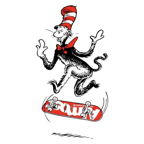 Almost X Dr. Seuss Cat Flip Sticker Canada Online Sales Vancouver Pickup