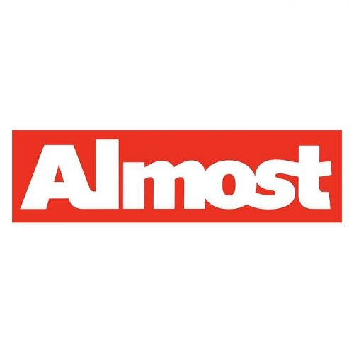 Almost Red Bar Sticker Canada Online Sales Vancouver Pickup