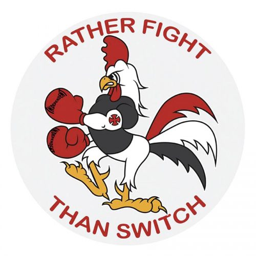Independent Rather Fight Than Switch Sticker Canada Online Sales Vancouver Pickup