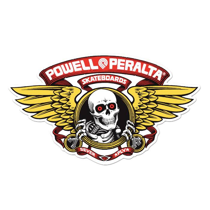 Powell Peralta Winged Ripper Sticker Canada Online Sales Vancouver Pickup