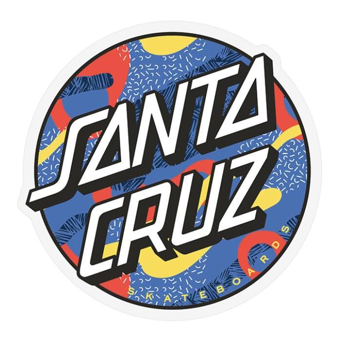 Santa Cruz Primary Dot Sticker Canada Online Sales Vancouver Pickup