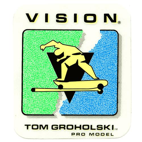 Tom Groholski New Old Stock Vision Sticker Canada pickup Vancouver
