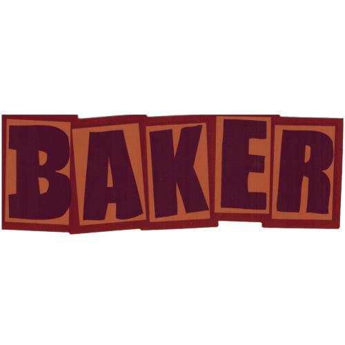 Baker Sticker Canada Pickup Vancouver
