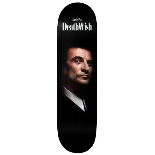 DEATHWISH Foy Funny How Skateboard Deck 8.3875 Canada Online Sales Vancouver Pickup Warehouse