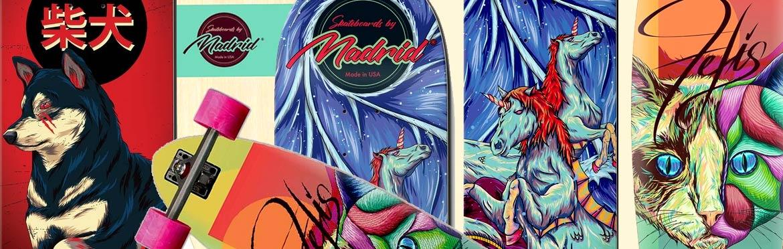 Madrid Skateboards Canada Pickup Vancouver