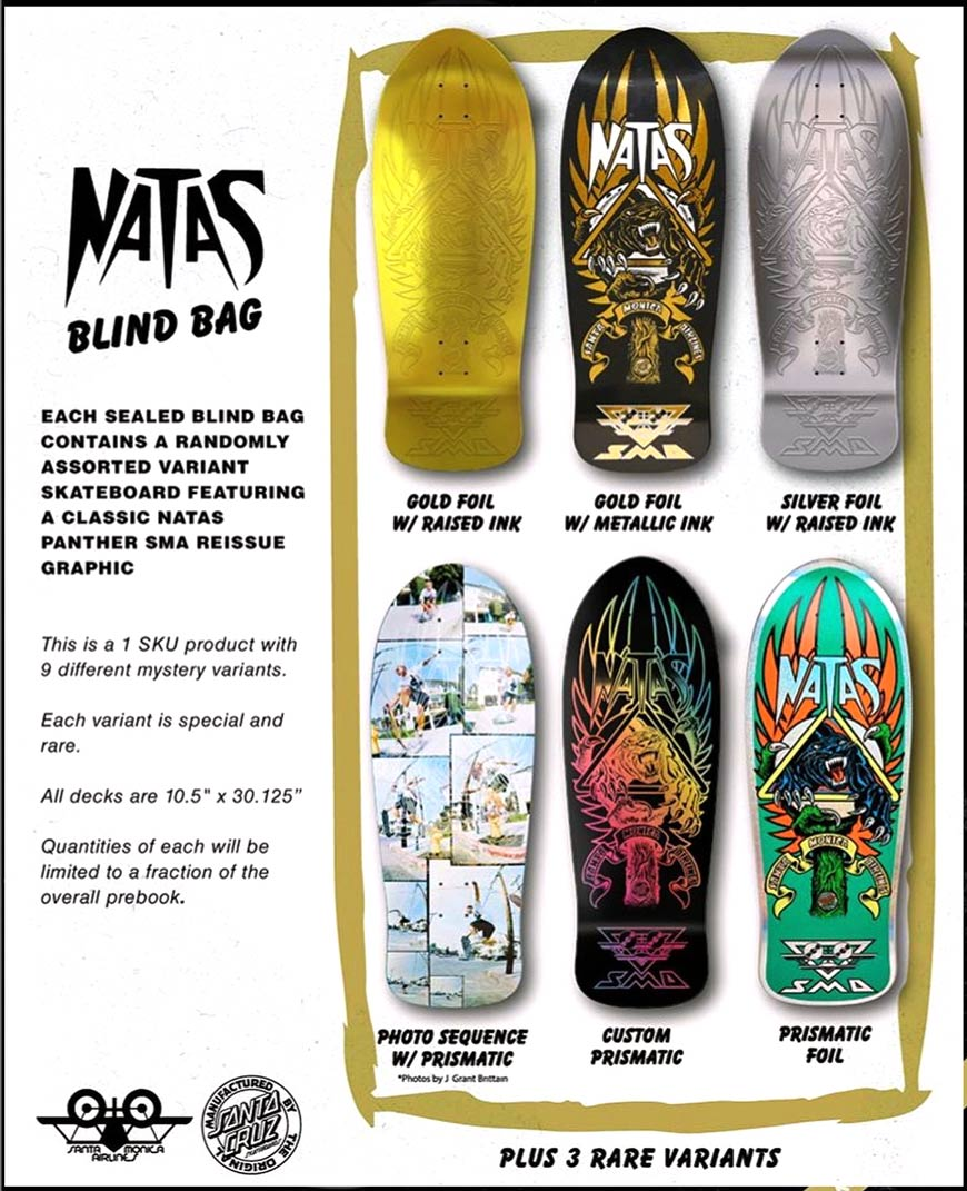 NATAS Santa Cruz Santa Monica Airlines SMA Mystery GRAB BAG Canada Online Sales Vancouver Pickup Warehouse